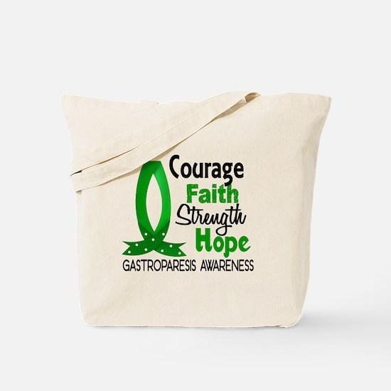 Gastroparesis Courage Faith 1 Tote Bag