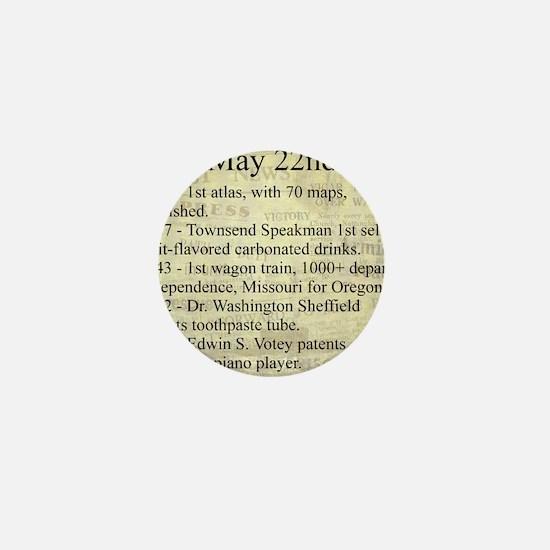 May 22nd Mini Button