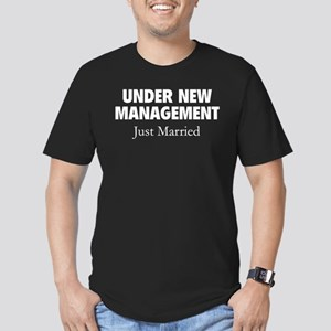 Under New Management. Just Married. Men's Fitted T