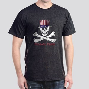 Patriotic Pirate (C) Dark T-Shirt