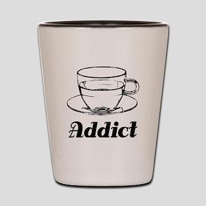 Tea Addict Shot Glass
