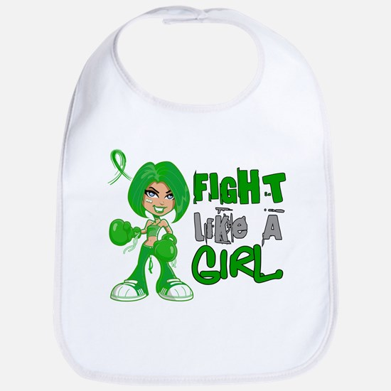 Licensed Fight Like a Girl 42.8 Gastroparesis Bib