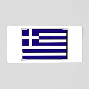 Flag of Greece NO Txt Aluminum License Plate