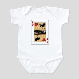 King Bulldog Infant Bodysuit