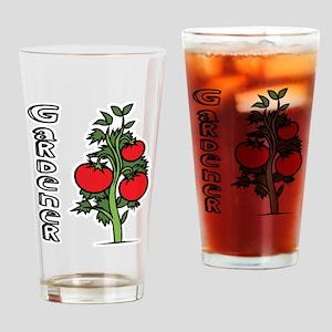 Tomato Gardener Drinking Glass