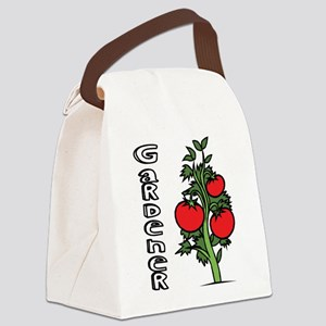 Tomato Gardener Canvas Lunch Bag
