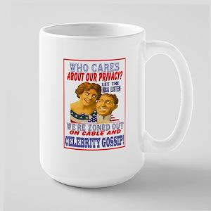 Nsa Spying Large Mug Mugs