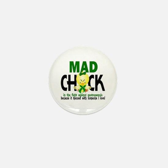Gastroparesis Mad Chick 1 Mini Button