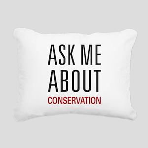 askconserv Rectangular Canvas Pillow