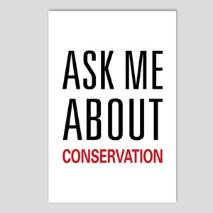 Ask Me About Conservation Postcards (Package of 8)