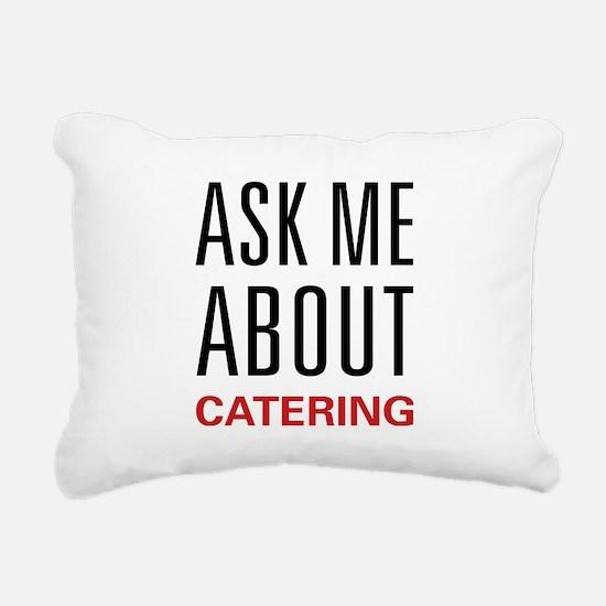 askcater.png Rectangular Canvas Pillow