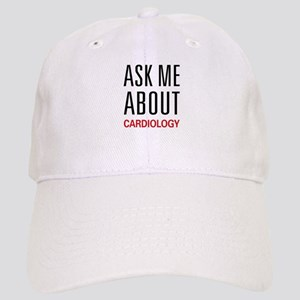 Ask Me About Cardiology Cap
