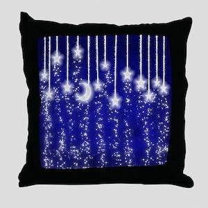 Star Dust Throw Pillow