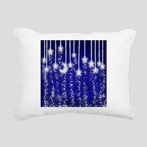 Star Dust Rectangular Canvas Pillow