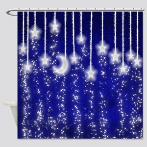 Star Dust Shower Curtain