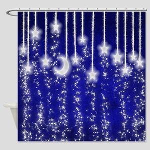 Star Dust Shower Curtain