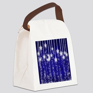 Star Dust Canvas Lunch Bag