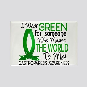 Gastroparesis Means World to Me 1 Rectangle Magnet