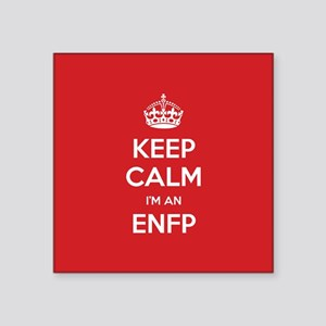 Keep Calm Im An ENFP Sticker