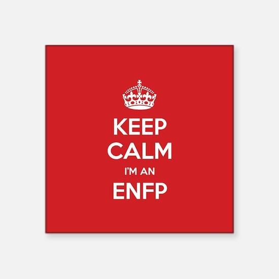 Keep Calm Im An ENFP Sticker