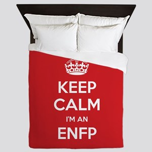 Keep Calm Im An ENFP Queen Duvet