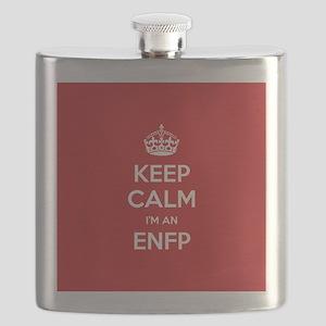 Keep Calm Im An ENFP Flask