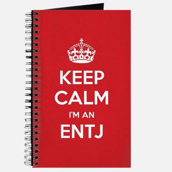 Keep Calm Im An ENTJ Journal