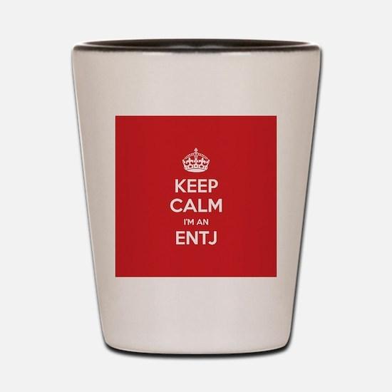 Keep Calm Im An ENTJ Shot Glass
