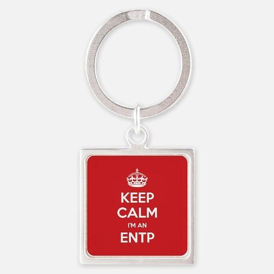 Keep Calm Im An ENTP Keychains