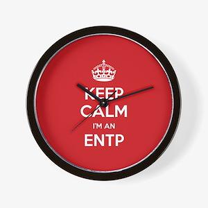 Keep Calm Im An ENTP Wall Clock