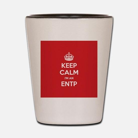 Keep Calm Im An ENTP Shot Glass