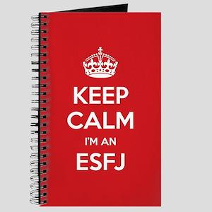 Keep Calm Im An ESFJ Journal