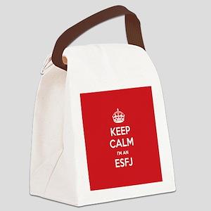 Keep Calm Im An ESFJ Canvas Lunch Bag