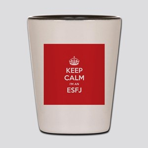 Keep Calm Im An ESFJ Shot Glass