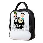 Behind the 8 Ball Neoprene Lunch Bag