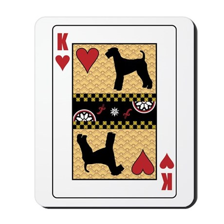 King Airedale Mousepad