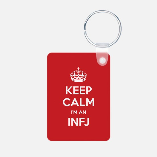 Keep Calm Im An INFJ Keychains