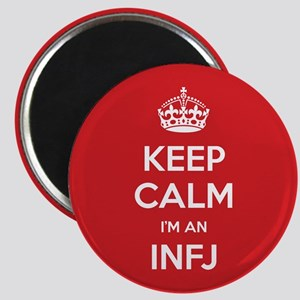 Keep Calm Im An INFJ Magnets