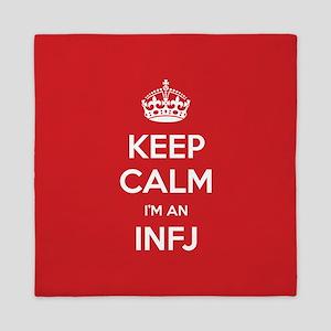 Keep Calm Im An INFJ Queen Duvet