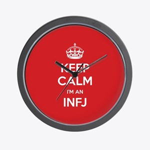 Keep Calm Im An INFJ Wall Clock