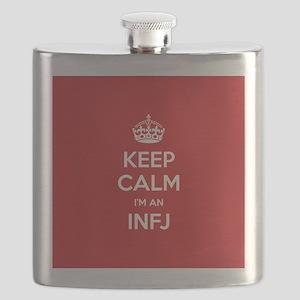 Keep Calm Im An INFJ Flask