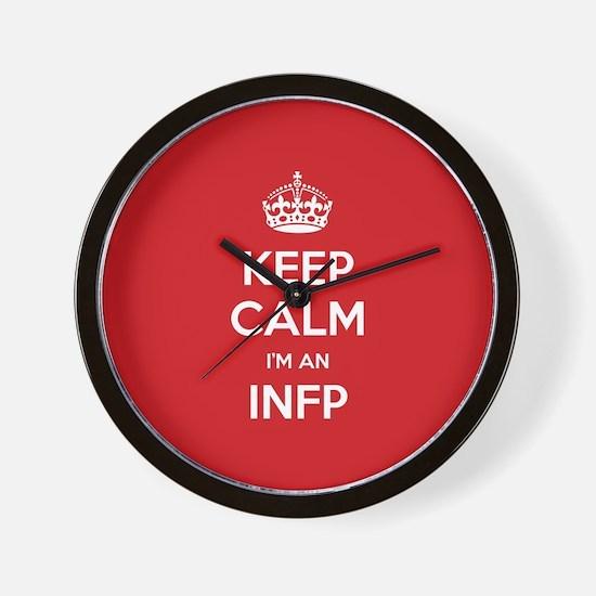 Keep Calm Im An INFP Wall Clock
