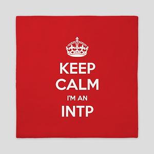 Keep Calm Im An INTP Queen Duvet