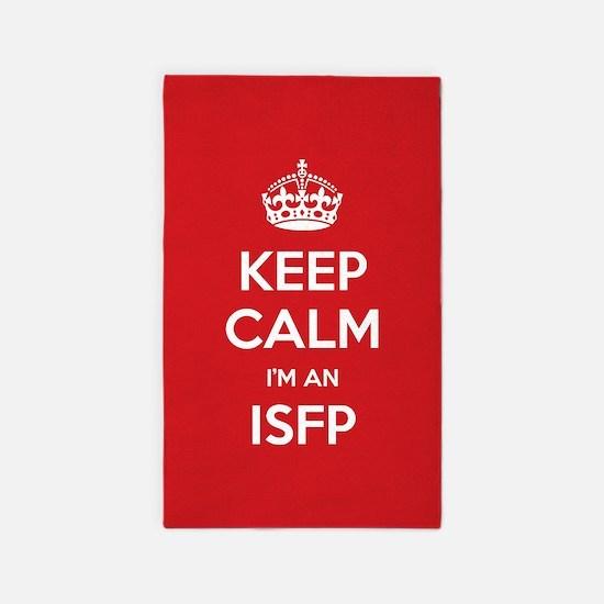 Keep Calm Im An ISFP 3'x5' Area Rug