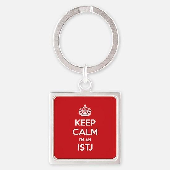 Keep Calm Im An ISTJ Keychains