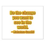 Gandhi Quote Small Poster