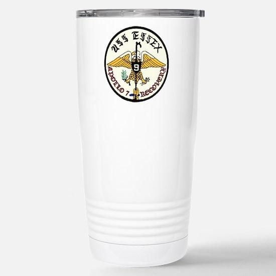 USS Essex Apollo 7 Reco Stainless Steel Travel Mug