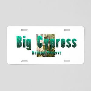 Abh Big Cypress Aluminum License Plate