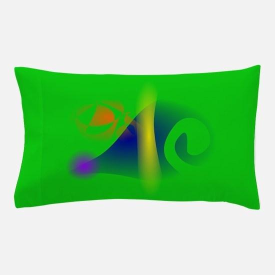 Green Mouse Pillow Case