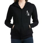 Philippines Islands Map On Dark Zip Hoodie